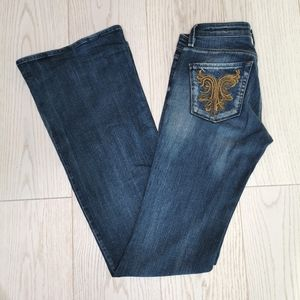 Miss Sixty Claudia Slim Flare jeans size 24